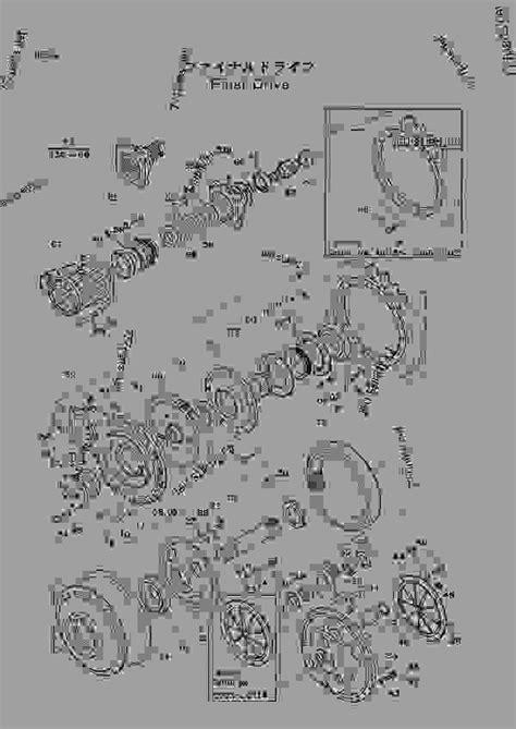 final drive excavator hitachi uh uh parts track parts