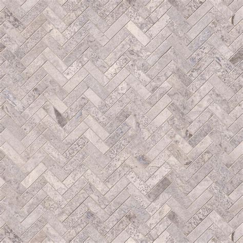 herringbone travertine tile silver travertine herringbone pattern honed backsplash