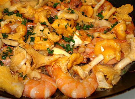 recette girolles des vitamines dans la casserole