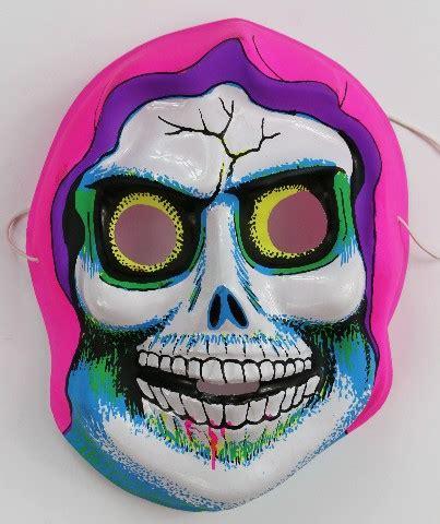 vintage death skeleton halloween mask skull monster demon