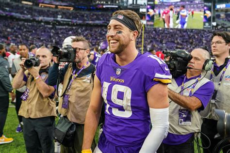 adam thielen doesnt worry   stats    win daily norseman