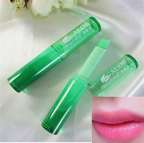 aloe vera matte lip balm cosmetics temperature change