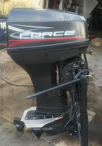 50 Hp Force Outboard Boat Motor For Sale