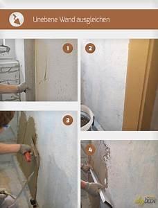 Nasse Wände Im Haus : unebene wand ausgleichen haus und garten pinterest haus w nde und renovieren ~ Markanthonyermac.com Haus und Dekorationen