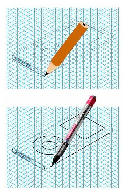 Draw 3d Line Lines Adding Shade Sketch