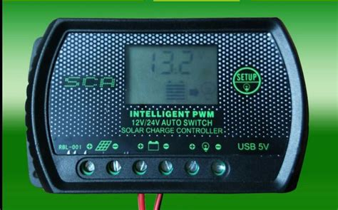 Intelligent Pwm Solar Charger Switch Controller
