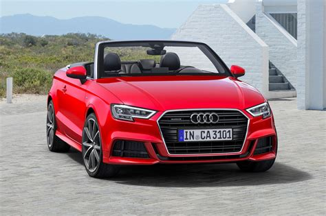 2017 Audi A3 Convertible Pricing & Features Edmunds