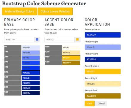 bootstrap colors drupalorg