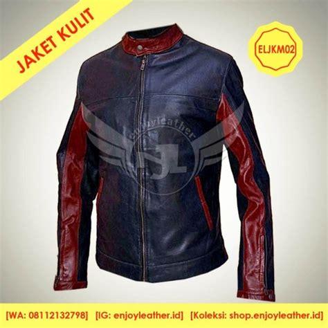 jual jaket kulit motor model eljkm anak muda custom