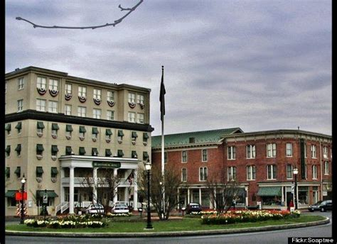 super haunted hotels  america places