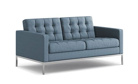 Knoll Settee by Florence Knoll Relaxed Settee Hivemodern