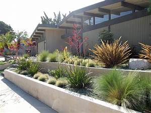 modern drought tolerant landscaping with gravel and small With make simple fresh and modern drought tolerant landscaping