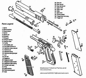 Image Result For 1911 Exploded Parts