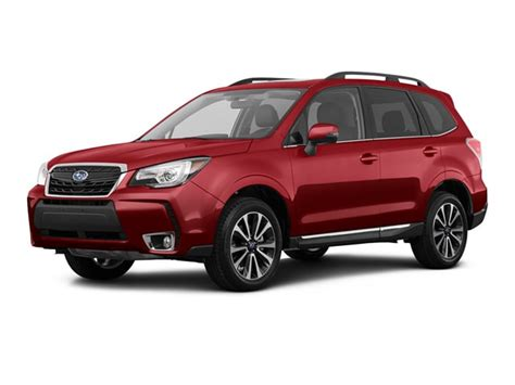 2017 Subaru Forester Red 200 Interior And Exterior Images