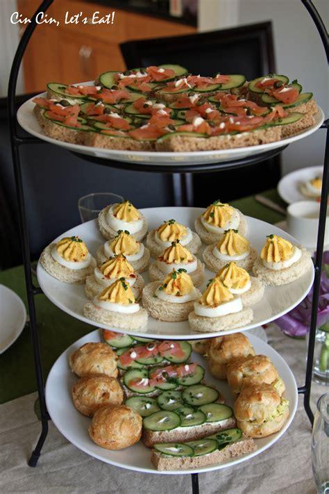tea party  recipe cin cin lets eat