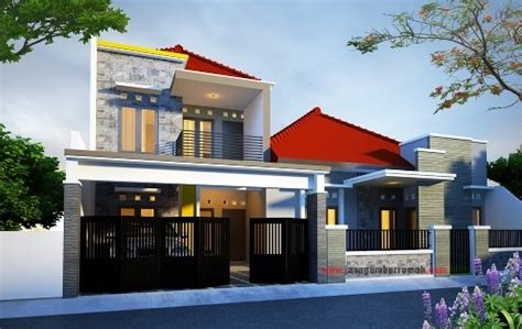 layanan  jasa gambar rumah rumah  lantai minimalis