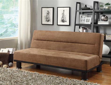 Homelegance Callie Click Clack Sofa Bed Brown
