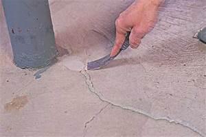 concrete slab crack repair With how to repair basement floor cracks