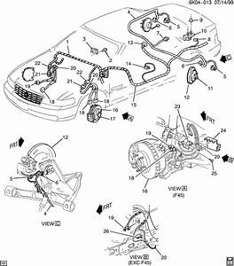 2008 Chevrolet Impala Connector  Body Wiring  Chassis