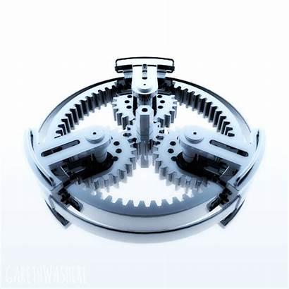 Mechanical Engine Gareth Gears Animation Fowler Axial