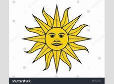 Sun May Flag Uruguay Vector Illustration Stock Vector