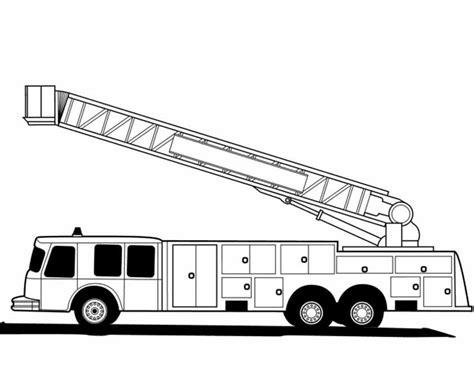Auto Kleurplaat Zijkant by Kleuren Nu Amerikaanse Brandweerauto Zijkant Kleurplaten
