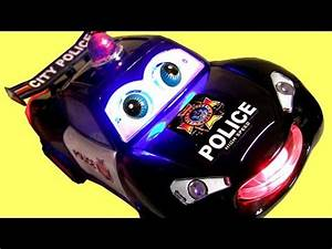 Picture Of Police Car With Lights Police Car Bump 39 N Go Lights 39 N Sounds Car Toy Youtube