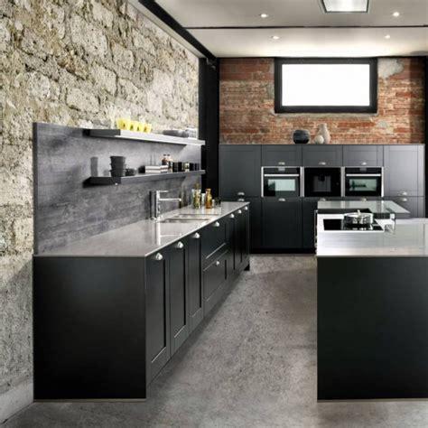 cuisine style industrielle cuisine industrielle les éléments déco à avoir