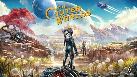 outer worlds   wallpaper