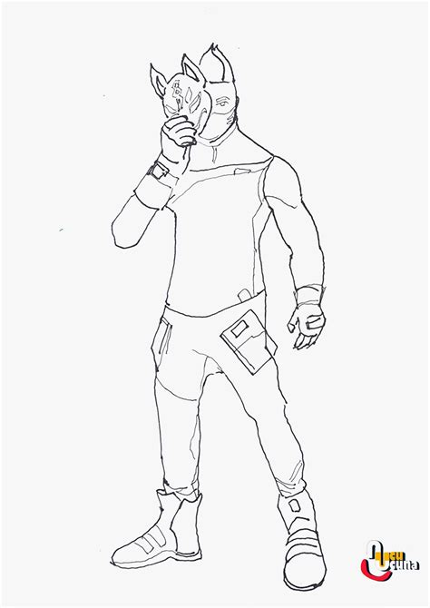 fresh fortnite coloring pages beef boss colouring