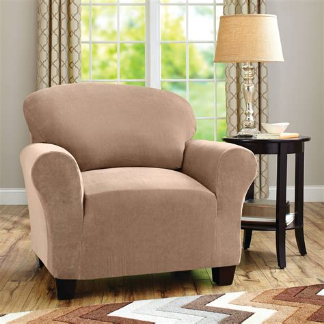 recliner sofa slipcovers walmart sure fit cotton duck dining chair slipcover walmart com