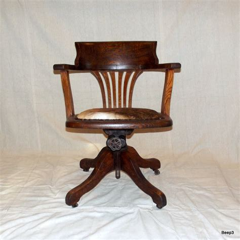 antique wooden desk chair antique upcycled wooden bankers office chair end of summer
