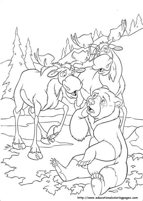 brother bear  educational fun kids coloring pages  preschool skills worksheets