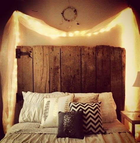 15 diy curtain headboard with lights home