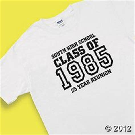 Class Reunion Shirts The T Shirt