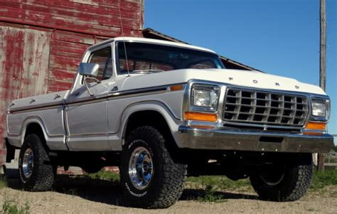 RARE 1979 Ford F150 Ranger 4x4, Shortbox, 2 Owner