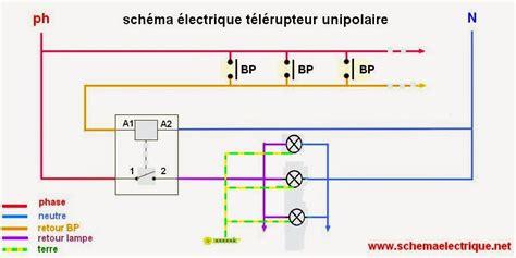 schema electrique branchement cablage technology