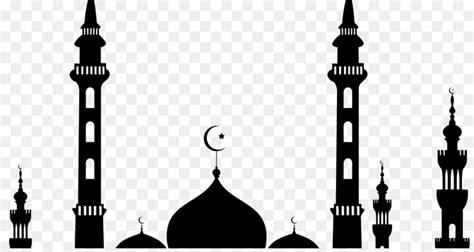 30 ide background islami hitam putih