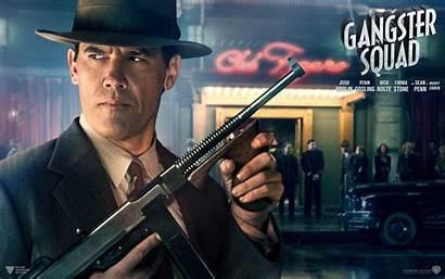 Gangster Squad Wallpapers Brolin Josh Desktop Backgrounds