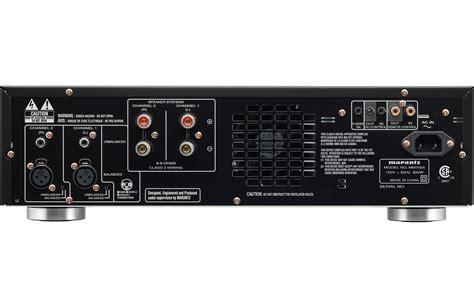 marantz mm  ch power amplifier
