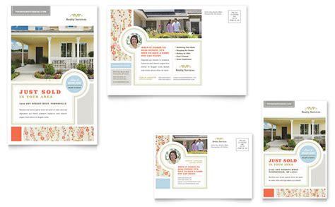 real estate postcard templates real estate home for sale postcard template design