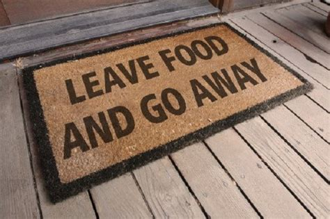 Welcome Go Away Doormat by 12 Socially Awkward Doormats Engineers Need When They Are