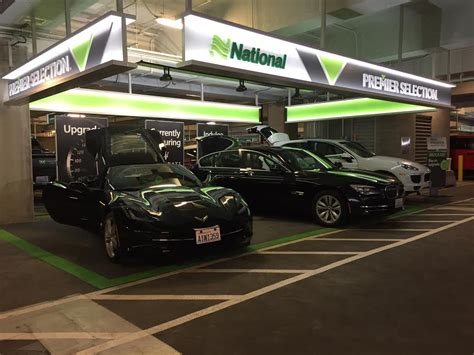 Airport Cars by Testing National Car Rental S Premier Selection Stuck At