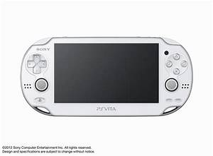 Crystal White PlayStation Vita announced - Gematsu