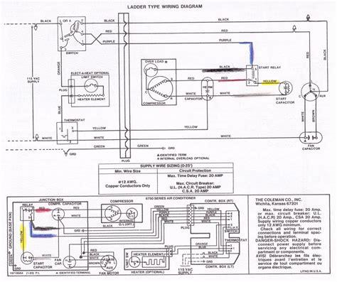 Coleman Mach Air Conditioner Wiring Diagram Free