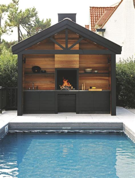 cuisine d été couverte cuisine d 39 extérieur inox mobile design barbecue