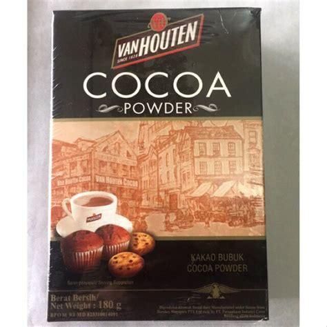 harga coklat bubuk van houten terbaru