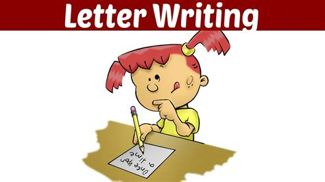 letter writing tutorial video  kids animated kids