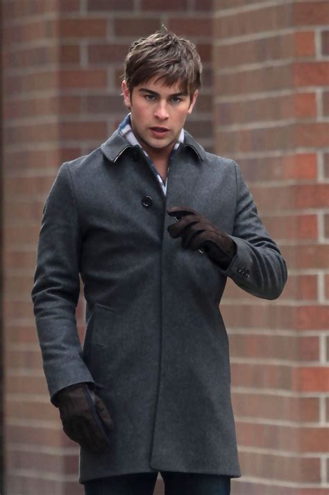 chace crawford   celebrities   set