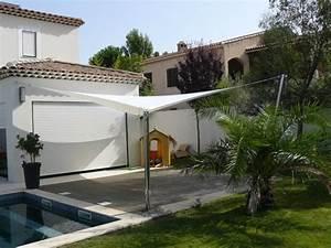 Toile Tendue Jardin : voile tendue pour jardin et terrasse var 83 toile ~ Melissatoandfro.com Idées de Décoration